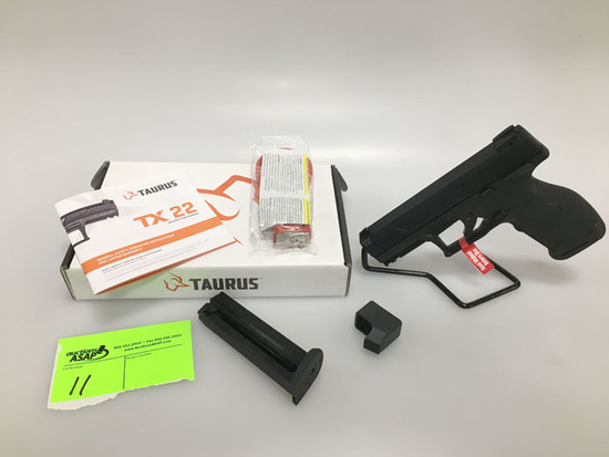 Taurus TX22 Pistol 22LR New in Box