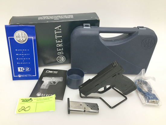 Beretta Nano 9mm Pistol New in Box