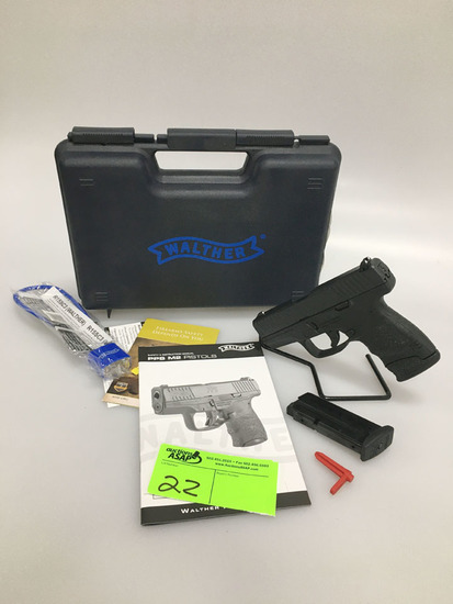 Walther PPS M2 Pistol 9mm New in box
