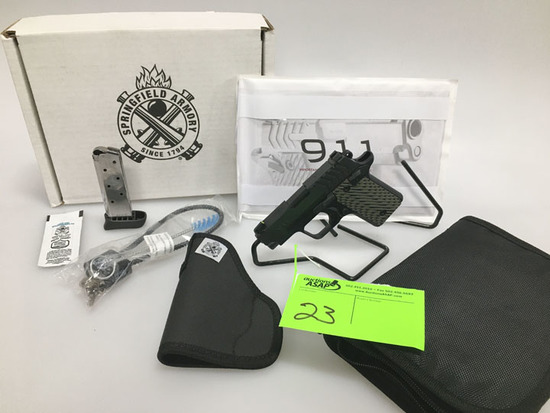 Springfield Armory 911 Pistol in 380, New in Box