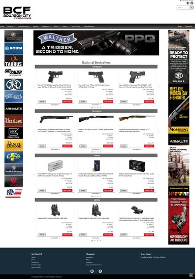 Bourbon City Firearms Website