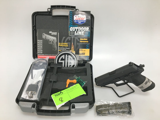 Sig P229 9mm Pistol, New in Box