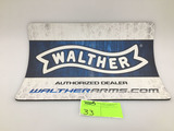 Walther Authorized Dealer Counter Mat, Collectible