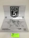 Glock & GEN 5 Glock Counter Mats, Collectible