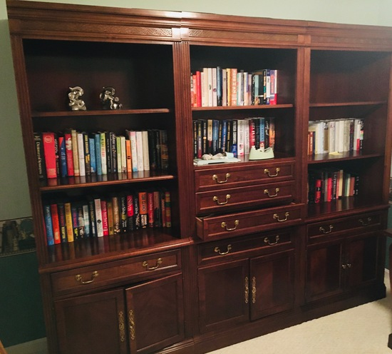 Study Room Bookcase 3 Units