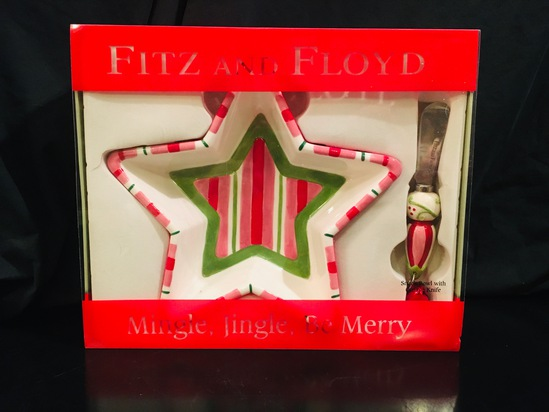 Fitz And Floyd - Mingle Jingle, Be Merry