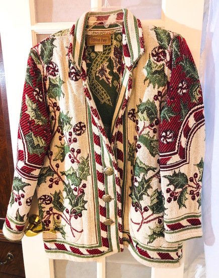 Painted Pony (S) CHRISTMAS HOLIDAY SEASON TAPESTRY JACKET (wed7)