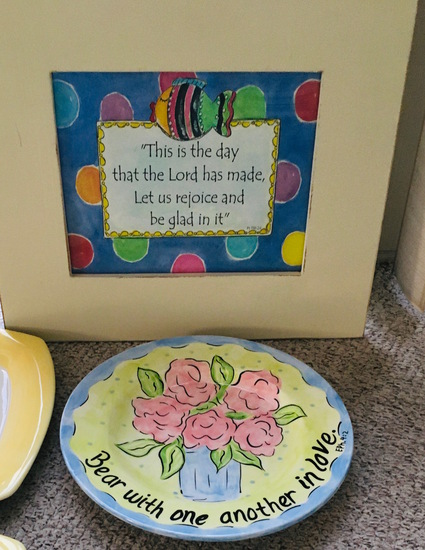 Whimsical Grace FRAMED PRINT & DINNER PLATE