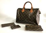 Vintage Louis Vuitton Speedy Bag 30 Monogram Canvas City Handbag