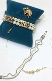 NAPIER Pearls - Pin - Crystals - Stunning Set