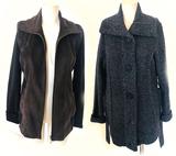 2 AK Anne Klein Sweater Jackets. Both Medium