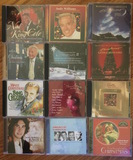 Music CD's - Nat King Cole, Tony Bennett, Bing Crosby, Andy Williams Josh Groban and many more stars