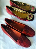 ANTONIO MELANI Leather Sole Loafers &  Coach Ballerina Shoes
