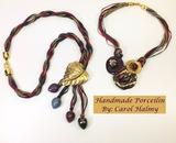 Artist Carol Halmy 2 Necklaces