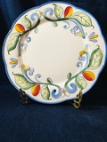 Fitz And Floyd - 2006 RICAMO MOTIF - Dinner Plate 11