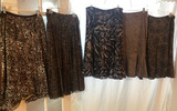 ANIMAL PRINT Women's Skirts Small Sizes (fri3)