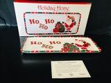 Fitz And Floyd -  Holiday Home - HO HO HO Platter