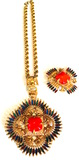 "CASTLECLIFF 1970-1972 DESIGNER Larry Vrba ""Mayan Aztec Kissing Indians"""