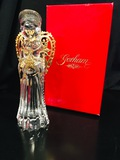 Gorham Crystal Nativity - ANGEL WITH WINGS - 24kt Gold Plated