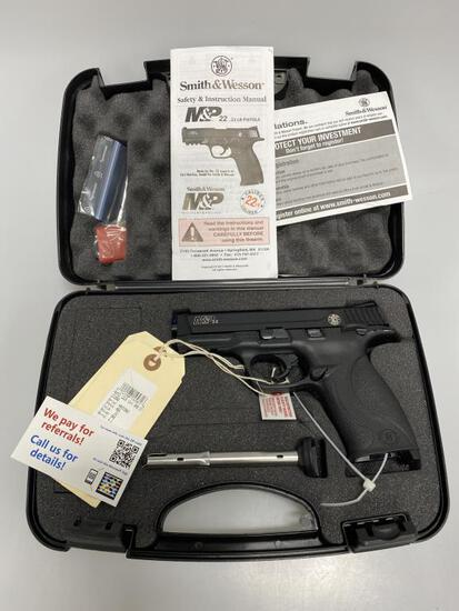 Smith & Wesson M&P22 22LR SAO 12+1 New in Box