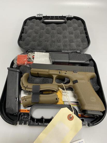 Glock 22 Gen 4 .40 Dark Earth Pistol New in Box