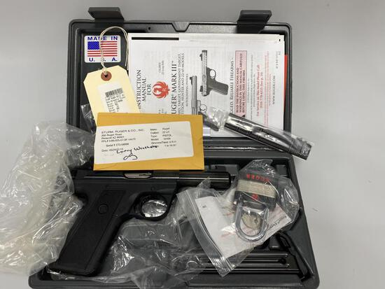 Ruger MARK III 22LR PIstol Model 10109 New
