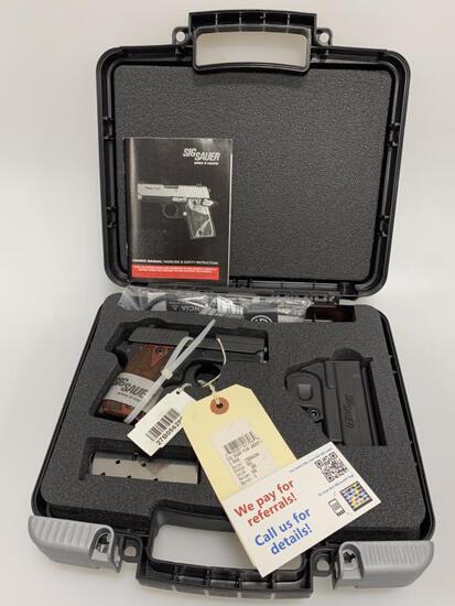 "Sig Sauer P238 380 Pistol SAO 3"" Barrel New in Box"