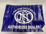 FNH Law Enforcement Authorized Dealer Banner Gun