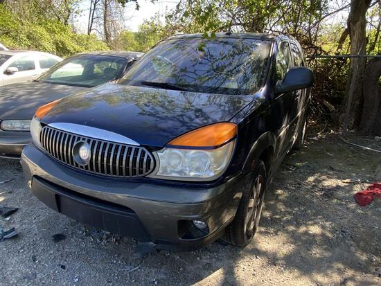 2003 Buick Rendezvous Blue Tow# 98763