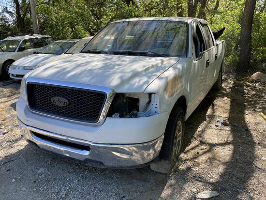 2007 Ford F150 XLT Truck White Tow# 87799