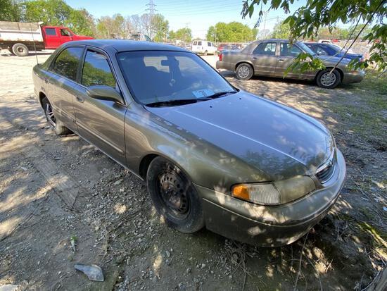 1999 Mazda 626 Tan Tow# 98830