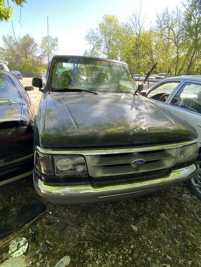1996 FORD RANGER  BLK Tow# 98807