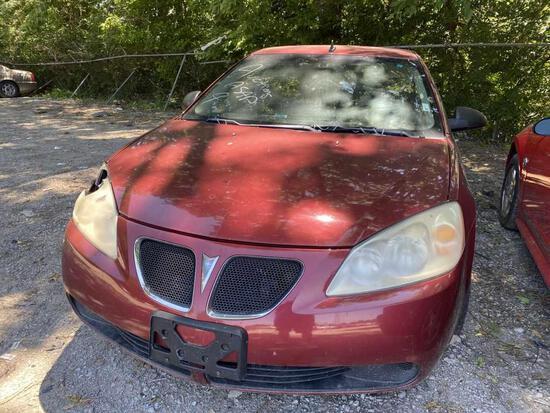 2009  PONTIAC  G6   Tow# 99834