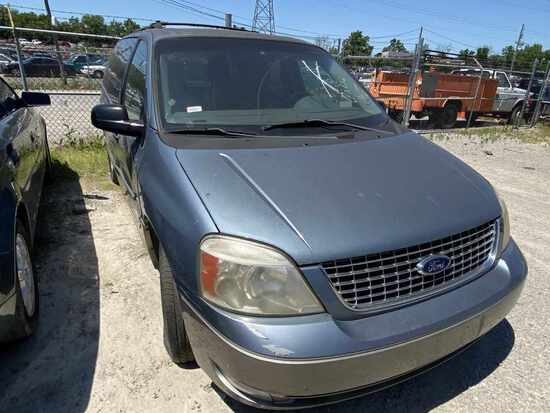 2004  FORD  FREESTAR   Tow# 100601