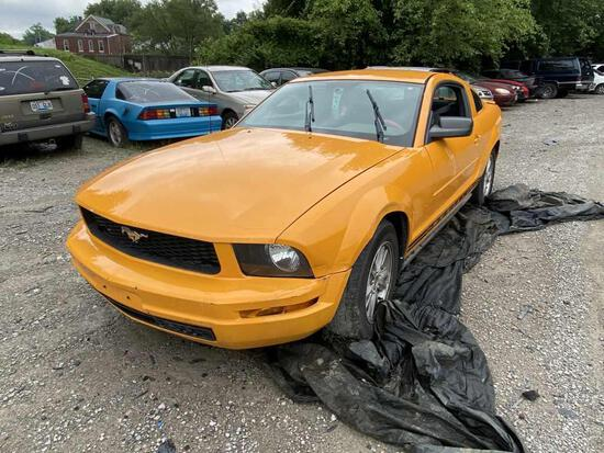 2007  FORD  MUSTANG   Tow# 100917
