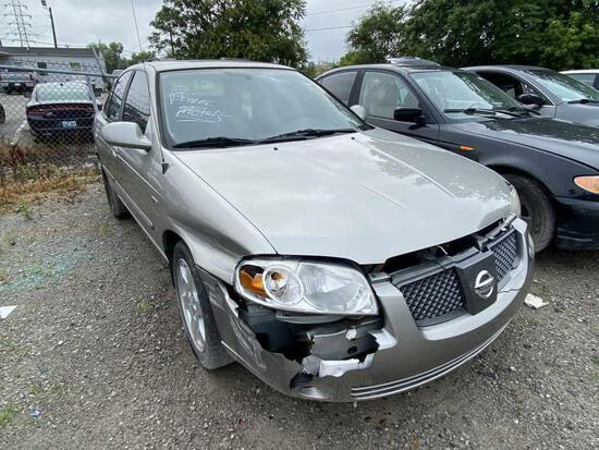 2005  NISSAN  SENTRA   Tow# 100394