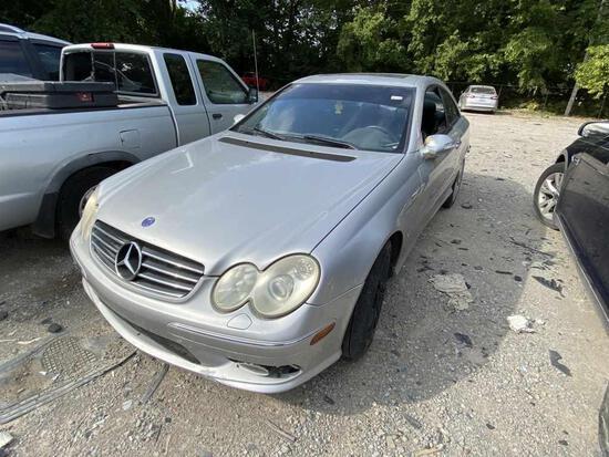 2004  MERCEDES  CL55   Tow# 101341