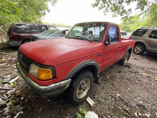 1993  FORD   RANGER (PICKUP)   Tow# 100528