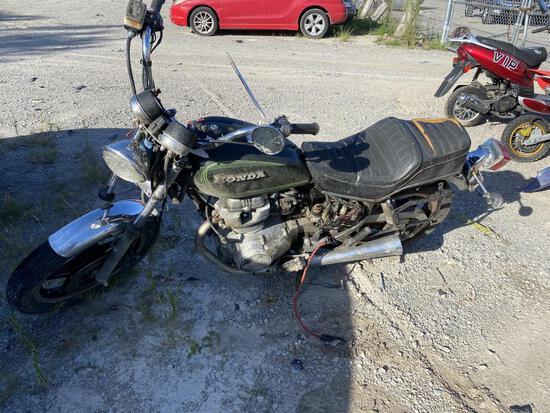 Honda Motorcycle Tow# 95001