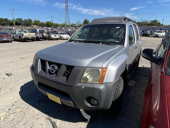 2006 Nissan X-Terra Wagon Tow# 101496