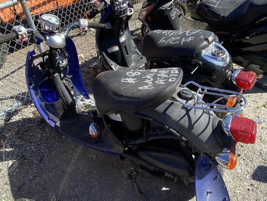 2007  YAMAHA   XC50 Vino Classic   Tow# 101735