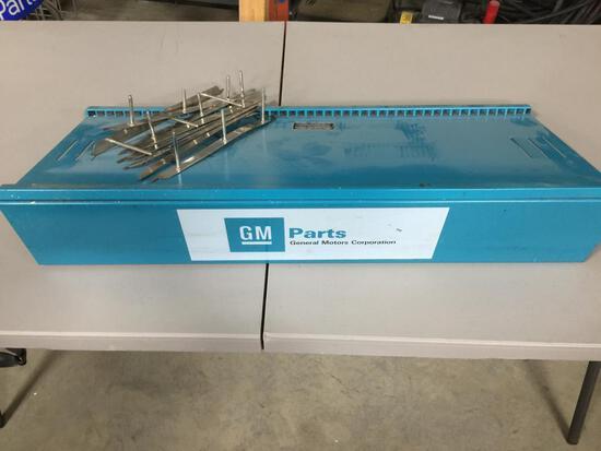 Actual GM Dealership Parts Catalog Rack, Collect