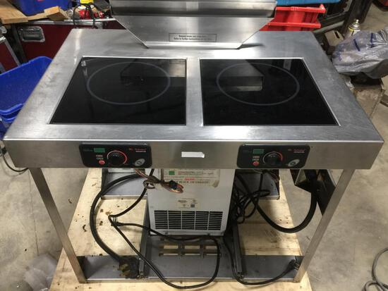 MAX Induction™ Cooking System built-in 2 1800 watt