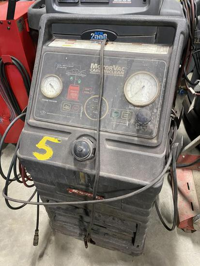 Snap on MOTORVAC CarbonClean Machine used