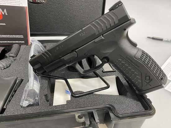 Springfield Armory XD-9 Pistol 4.5 Match 3Dot New