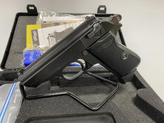 "Walther PPK/S 22LR 3"" 10rd Black New Pistol"