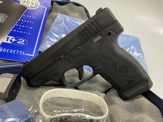 Beretta NANO 9mm Pistol 3Dot New Pistol 2 Mags