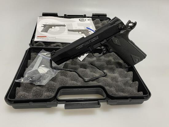 Walther / Colt Rail Gun Gov Model Pistol 22LR New