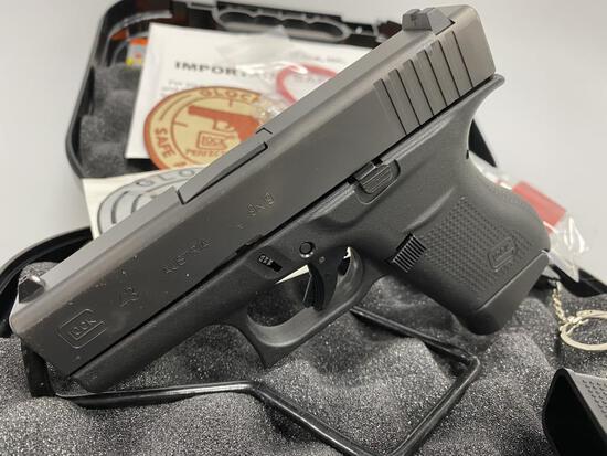 Glock G43 9mm Pistol New w/Accessories
