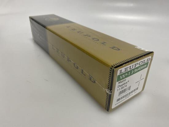 Leupold VX-1 3-9x40mm Matte Duplex New 113874